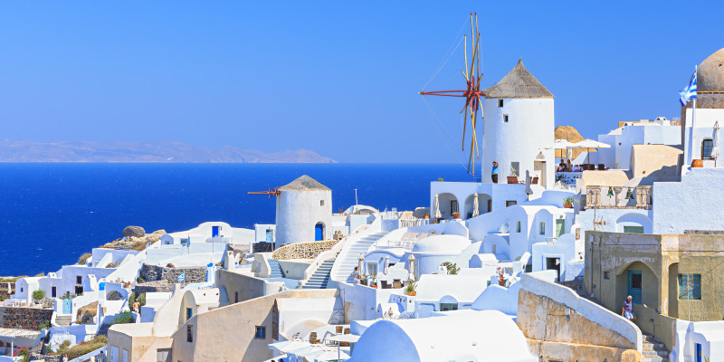The wonderful insight of the Cyclades architecture