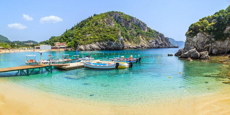 Blaues Korfu entdecken
