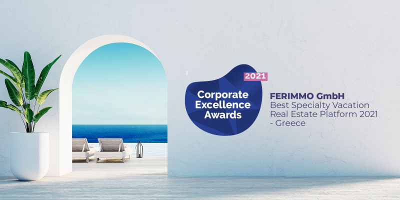 Neue Internationale Auszeichnung für FERIMMO!